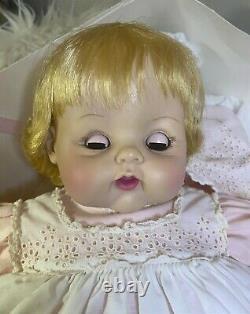 1962 Madame Alexander Kitten Doll Withcrier 18 Inch