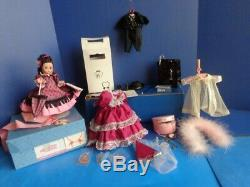 1990 Madc Convention Set- Lena Riverboat Queen Doll- Lots Of Extras