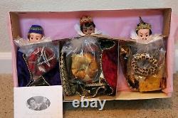 1997 Madame Alexander THE THREE WISE MEN SET (3 Dolls), Nativity Collection-NEW