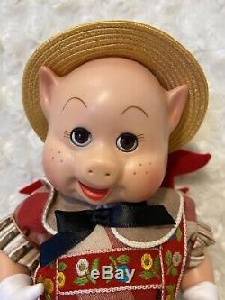 1997 Madame Alexander The Three Little Pigs / All Original 10