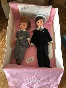 2 Vintage 1996 Madame Alexander 10 Cissette I Love Lucy & Ricky Set RARE MINT