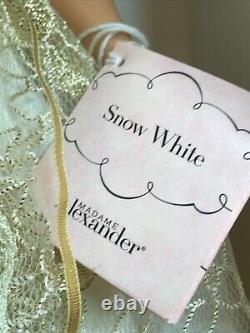 2001 Madame Alexander 14 SNOW WHITE Doll withMargaret Face #28615 NRFB