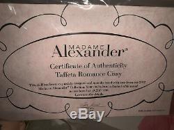 2002 Taffeta Romance Cissy #33170 Madame Alexander Doll 21 Le #234/350 Coa New