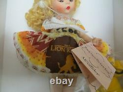 2005 Madame Alexander #40340 Wendy Loves The Lion King Doll New In Box