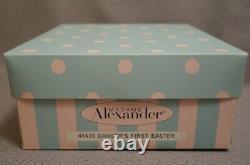 2006 Madame Alexander Dangers First Easter 8 Doll + Dog Mint