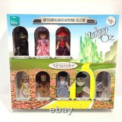 2007 RARE NEW Set of 8 Madame Alexander WIZARD OF OZ McDonalds Happy Meal Dolls