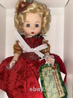 2013 Madame Alexander 8 Doll WENDY WISHES YOU A MERRY CHRISTMAS 66220