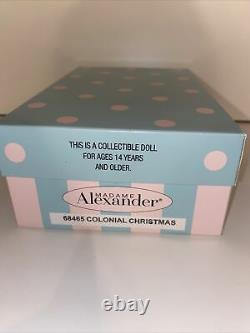 2014 Madame Alexander 8 Doll COLONIAL CHRISTMAS 68465