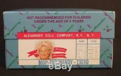 75th Anniversary Madame Alexander Mop Top Wendy and Mop Top Billy Dolls NIB