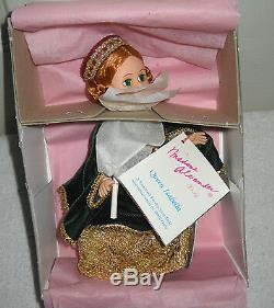 #9406 NIB Vintage Madame Alexander 1992 Queen Isabella Limited Production Doll