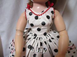 Alexander Cissy 1956 Dots w Red Rickrack Sun Dress Stitch by Stitch Replica