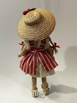 Antique c1936 WENDY ANN 9 Composition Doll (MME ALEXANDER NEW YORK) McGuffy