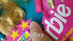 Barbie HOLLYWOOD HAIR BARBIE 1993 #10928 withhair mist Deluxe Play Set