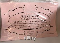 Beautiful Madame Alexander SEVENTIES STRUT 21 Cissy AA