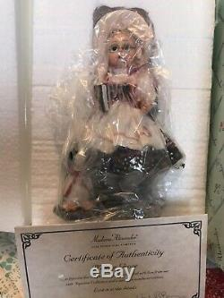Beautiful NIB MADAME ALEXANDER 8 inch Vintage Mother Goose Doll