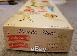Boxed Brenda Starr Doll in Lace Chemise 1964 by Madame Alexander MINT IN BOX