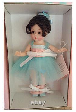Butterfly Ballerina Brunette, 2019 Madame Alexander Dolls 8 in. Wendy NEW