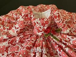 Camellia Reproduction Dress Custom Made for Vintage Madame Alexander Cissy Doll