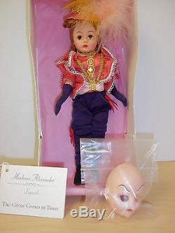 Cirque de Soleil Alegria Misterioso Comedienne by Madame Alexander MIB