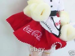 Coca-Cola CARHOP by MADAME ALEXANDER 13 Porcelain DANBURY COKE DOLL NEW