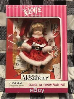 Eloise at Christmastime Doll 8 Madame Alexander 2000. NRFB HTF. New Old Stock