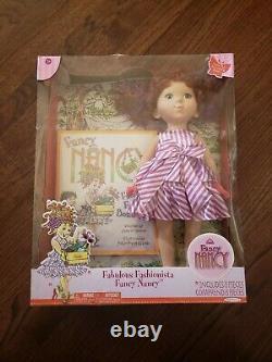 Fancy Nancy Fabulous Fashionista 18 Doll And Book Jakks Pacific 2010