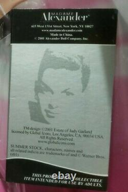 JUDY GARLAND 16 GET HAPPY DOLL by MADAME ALEXANDER. #1105 of only 2500. RARE