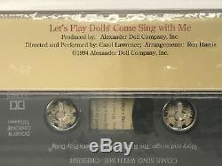 Lets Play Dolls Cherish Vinyl Doll 12 By Alice Darling & New Audiocassette Nib