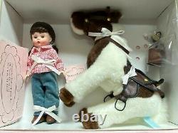 M. Alexander WESTERN RIDING WENDY & HER PINTO PONY New, Never Removed from Box