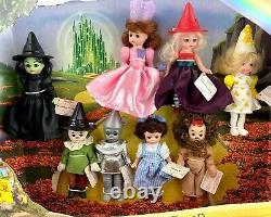 MADAME ALEXANDER 2007 Wizard of Oz McDonald's Happy Meal Dolls in Store Display