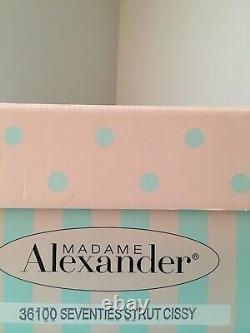 MADAME ALEXANDER 21' 36100 Seventies Strut Cissy Limited Edition