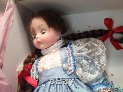 MADAME ALEXANDER 75TH ANNIVERSARY BLUE DUPIONNE KELLY Still attached in box NIB