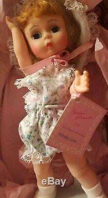 MADAME ALEXANDER 8 Doll Wendy Loves Learning To Sew New in Basket