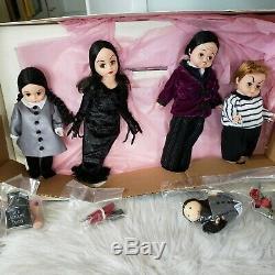 MADAME ALEXANDER Dolls ADAMS FAMILY DOLLS FAO SCHWARTZ Very rare New