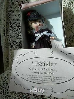 MIB Madame Alexander Going to the Fair & EXPO Philadelphia 1876 LE 53/126 13/72