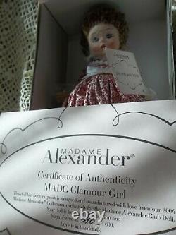 MIB Madame Alexander MADC 2004 Glamour Girl LE 396/600 35020