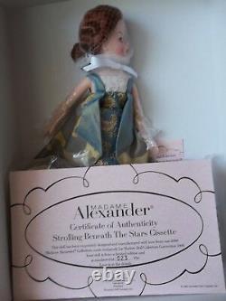 MIB Madame Alexander Strolling Beneath the Stars Cissette LE 23/500 Alphgan Dog