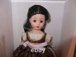Madame Alexander 10 Cissette Doll Lucrezia Brgia new 51770 2008 History Line