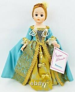 Madame Alexander 10 Cissette MADCC 1991 Souvenir Doll Queen Charlotte & COA NIB