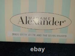 Madame Alexander 10 SNOW WHITE & SEVEN 5 1/2 DWARVES SET NIB #35520 PRECIOUS