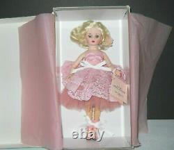 Madame Alexander 10 Sweet Celebrations CISSETTE NRFB Pink Gown Shoes