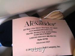 Madame Alexander 16 Travel With Style Alexandra Fairchild Ford 45790 Lmt300
