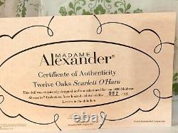 Madame Alexander 20 Twelve Oaks Scarlet O'Hara 2010 Cissy Doll LE 82 of 125