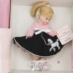 Madame Alexander 2003 8 Let's Hop 50's Wendy, Blonde Hair, Blue Eyes New In Box
