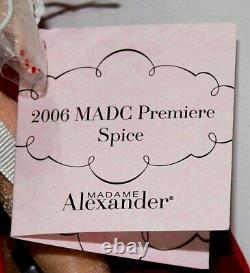 Madame Alexander 2006 Premiere Spice Cissette Doll # 41775 Mint In Box
