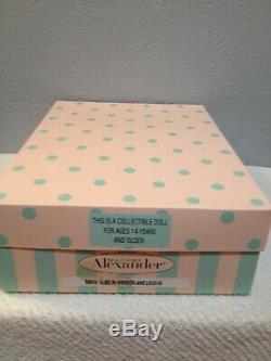 Madame Alexander #50015 Alice In Wonderland Lissy Rabbit's House Nib