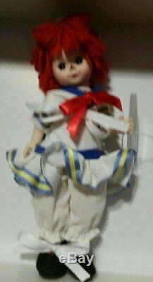 Madame Alexander 8 Doll 49970 Raggedy Ann & Andy Set MIB
