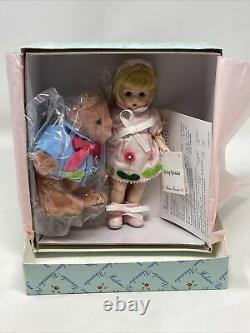 Madame Alexander 8 Doll SPRING SPLENDOR With BEAR MINT CONDITION