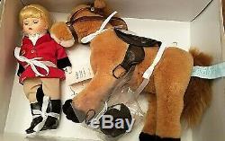 Madame Alexander 8 Equestrian Wendy Doll 35575 with Horse 2003 NRFB New NIB Rare