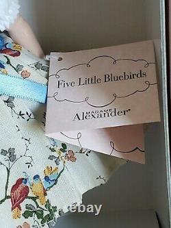 Madame Alexander 8 FIVE LITTLE BLUEBIRDS No. 45835 MINT, NRFB